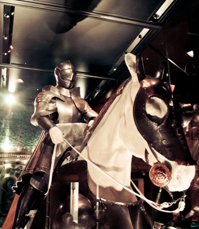 Tower Of London - Armour & Horse