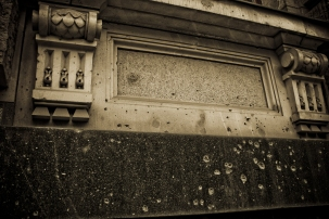 WWII Bullet holes - Battle for Berlin