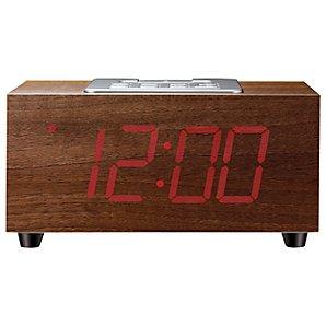 Wooden Clock Radio