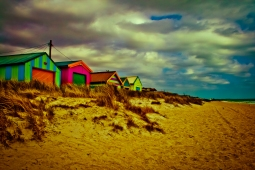 Australian Colourful Beach Houses