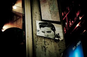 Melbourne Laneway Street Art Elvis