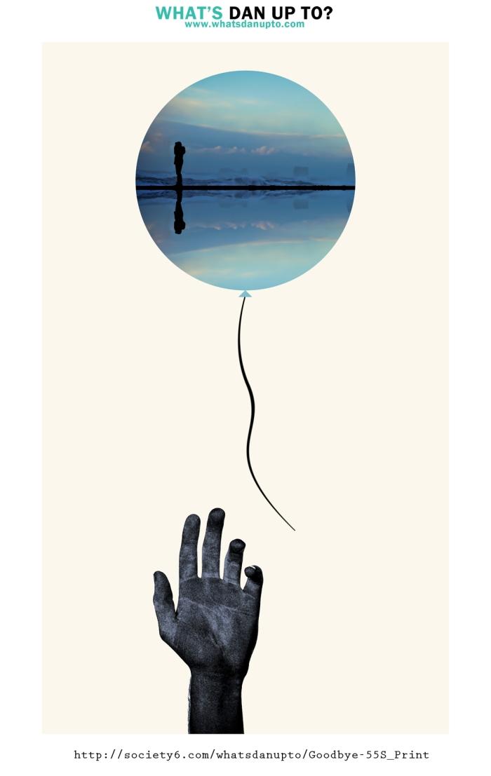 Man in balloon