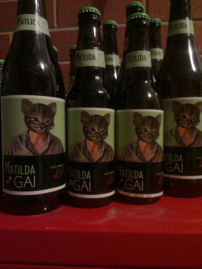 Matilda Gai homebrew lager