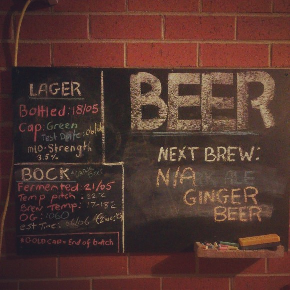 Brew Board Updated