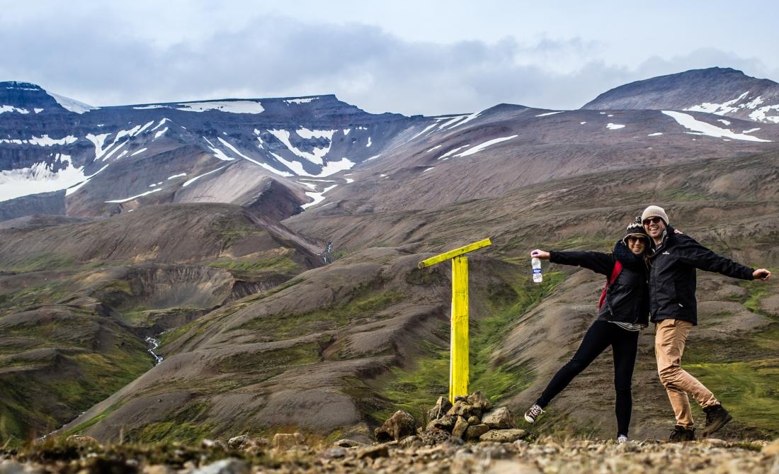 Akureyri - Hike to top of mountain