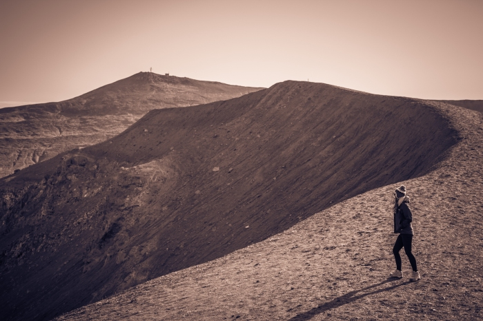 Crater at Kafla Mývatn - Iceland