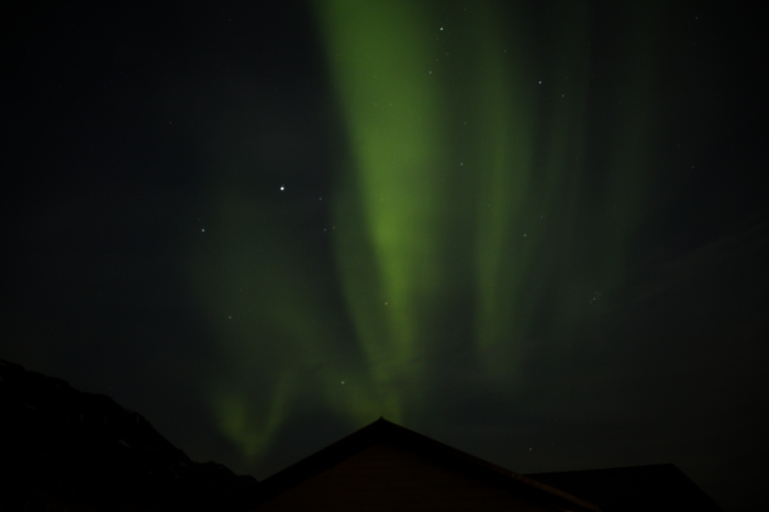 Northern Lights - Seydisfjordur Iceland