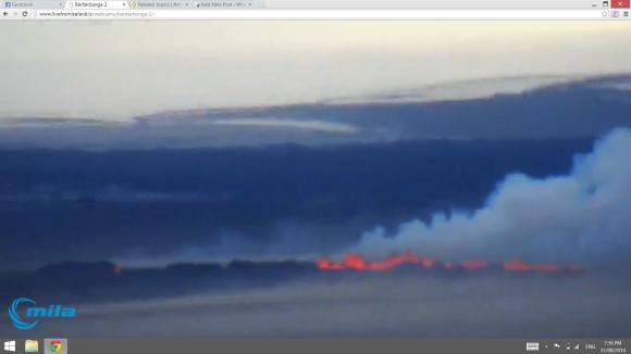 Iceland Fissure Eruption