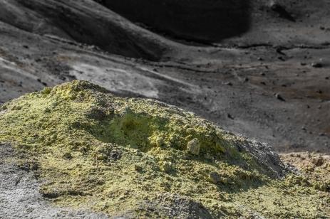 Krafla - Sulfur Pile
