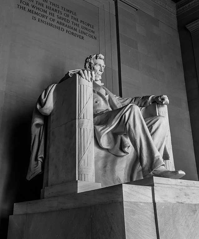 Lincoln Memorial B&W