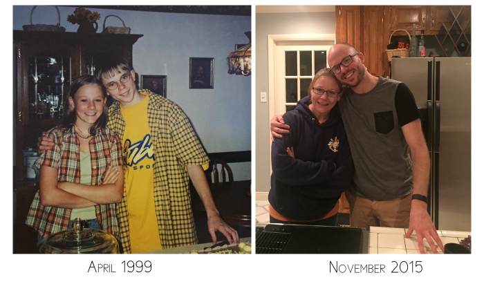 Steph & Dan 15 yrs difference