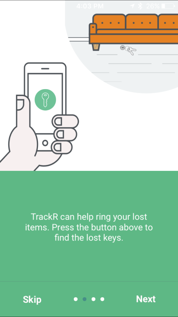 TrackR App Introducation 2
