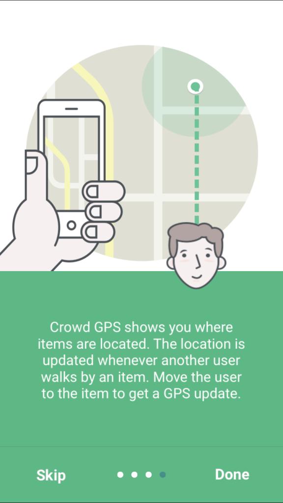 TrackR App Introducation 4